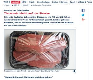 WDR Preissenkung